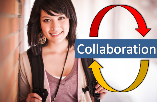 How online students can collaborate with group members